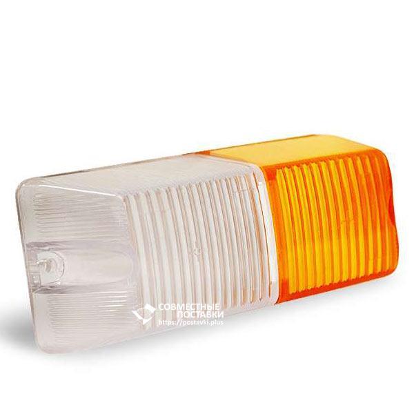 Стекло переднее фонаря ФП-204 (пластмассовое)