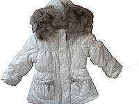 Зимняя куртка с натуральным мехом Ceremony by Wojcik 31461 серая 98, фото 1