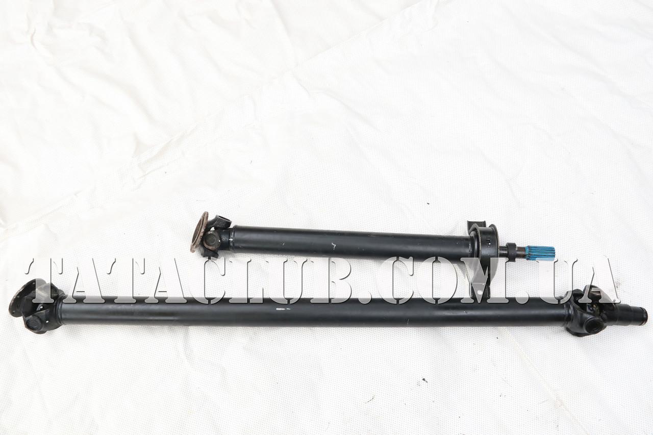 Вал карданный в сборе /предняя и задняя часть/ E3-Е4 Тата Motors