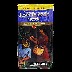 Кофе молотый Hacendado Descafeinado Mezcla 500г 100% арабика
