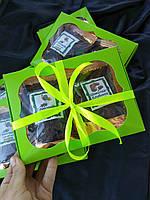 Подарочный набор двух видов ароматного черного чая Глинтвейн со специями, Брызги шампанского с клубникой, фото 1