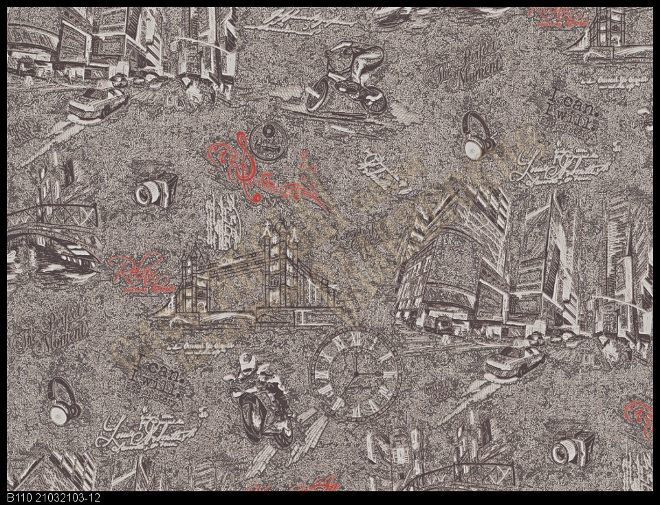 Обои Славянские Обои КФТБ виниловые на флизелиновой основе 10м*1,06 9В110 Атлас 2103-12