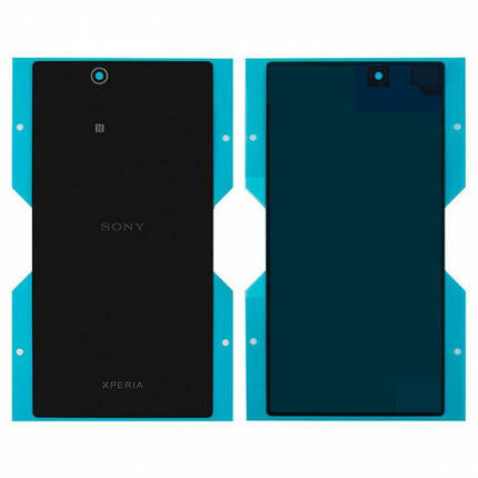 Задняя крышка для Sony C6802 Xperia Z Ultra XL39h/C6806/C6833, черная , фото 2