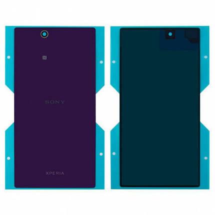 Задняя крышка для Sony C6802 Xperia Z Ultra XL39h/C6806/C6833, фиолетовая , фото 2