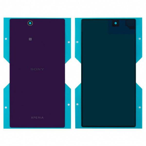 Задняя крышка для Sony C6802 Xperia Z Ultra XL39h/C6806/C6833, фиолетовая