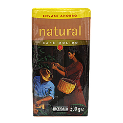 Кофе молотый Hacendado Café Natural 500г 100% Arabica