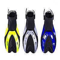 Ласты для плавания с открытой пяткой регулируемые Dolvor F66 (размер 40-44,44-48)