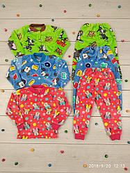 Детская махровая пижама для девочек и мальчиков