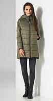 Куртка Lissana-3512 белорусский трикотаж, оливка, 48