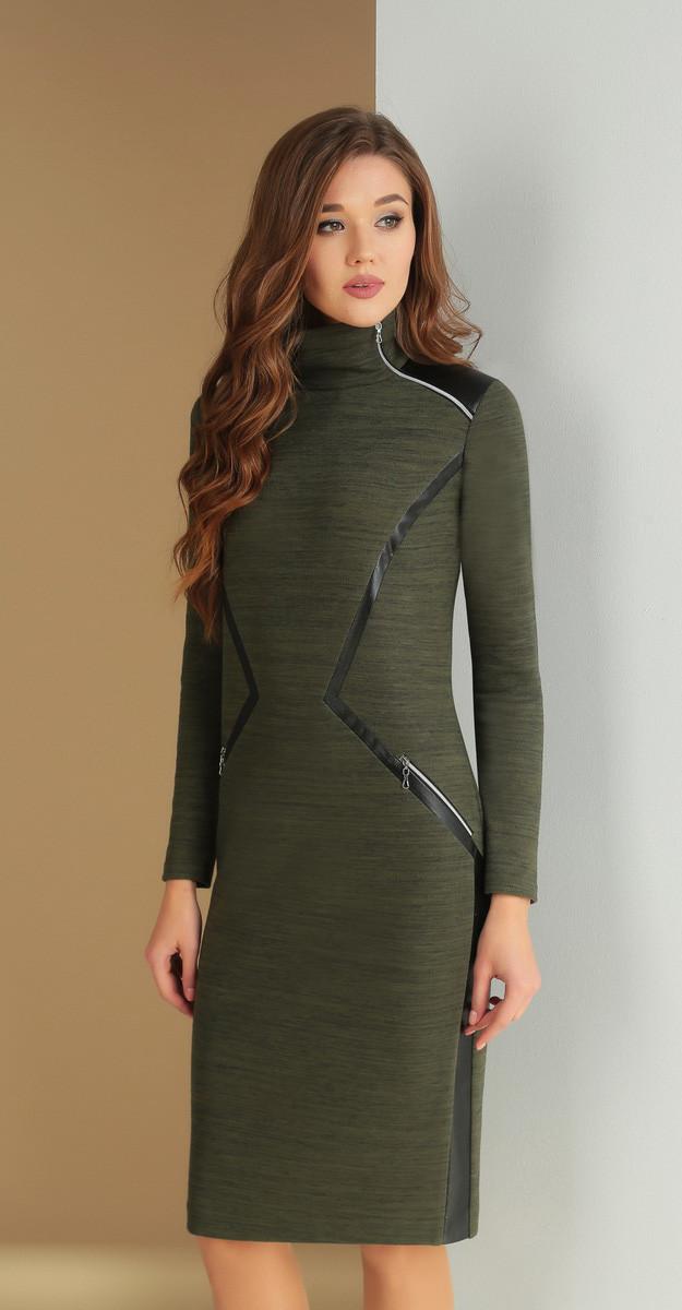 8364175094b Платье Ксения стиль-1588 белорусский трикотаж