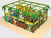 Детский игровой лабиринт ЛК-9.41