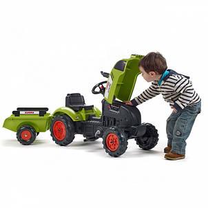 Педальний Трактор з причепом Falk 2041С, фото 2