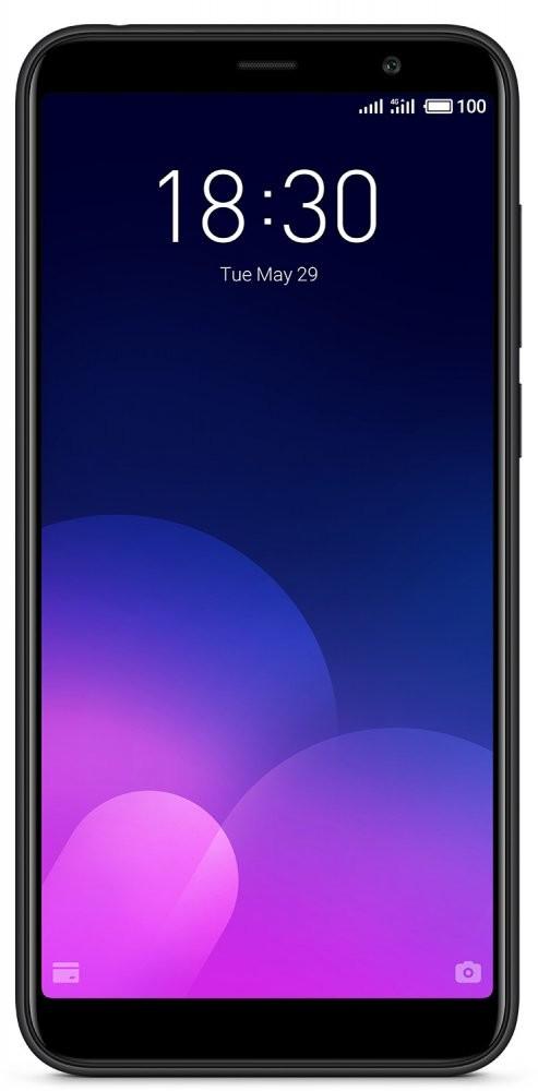 Смартфон Meizu M6T 32Gb Black Global Version Оригинал Гарантия 3 месяца / 12 месяцев