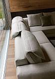 Модульний диван з регульованим підголівником GAME фабрика ALBERTA (Італія), фото 10