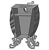 """Буржуйка """"Фаберже"""" с конвекцией + вторичный дожиг печных газов, сталь 4 мм - Фото"""