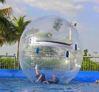 """Водный шар """"Прозрачный"""" 2,0 м, фото 1"""