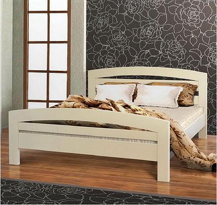 Ліжко двоспальне 160*200 з натурального дерева Світанок Летро
