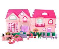 Детский домик 16526D с фигурками и мебелью, фото 3
