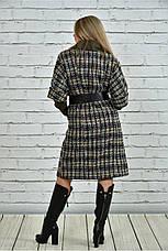 Хит сезона! женское пальто на подкладке с поясом батал размеры: 42-74, фото 2