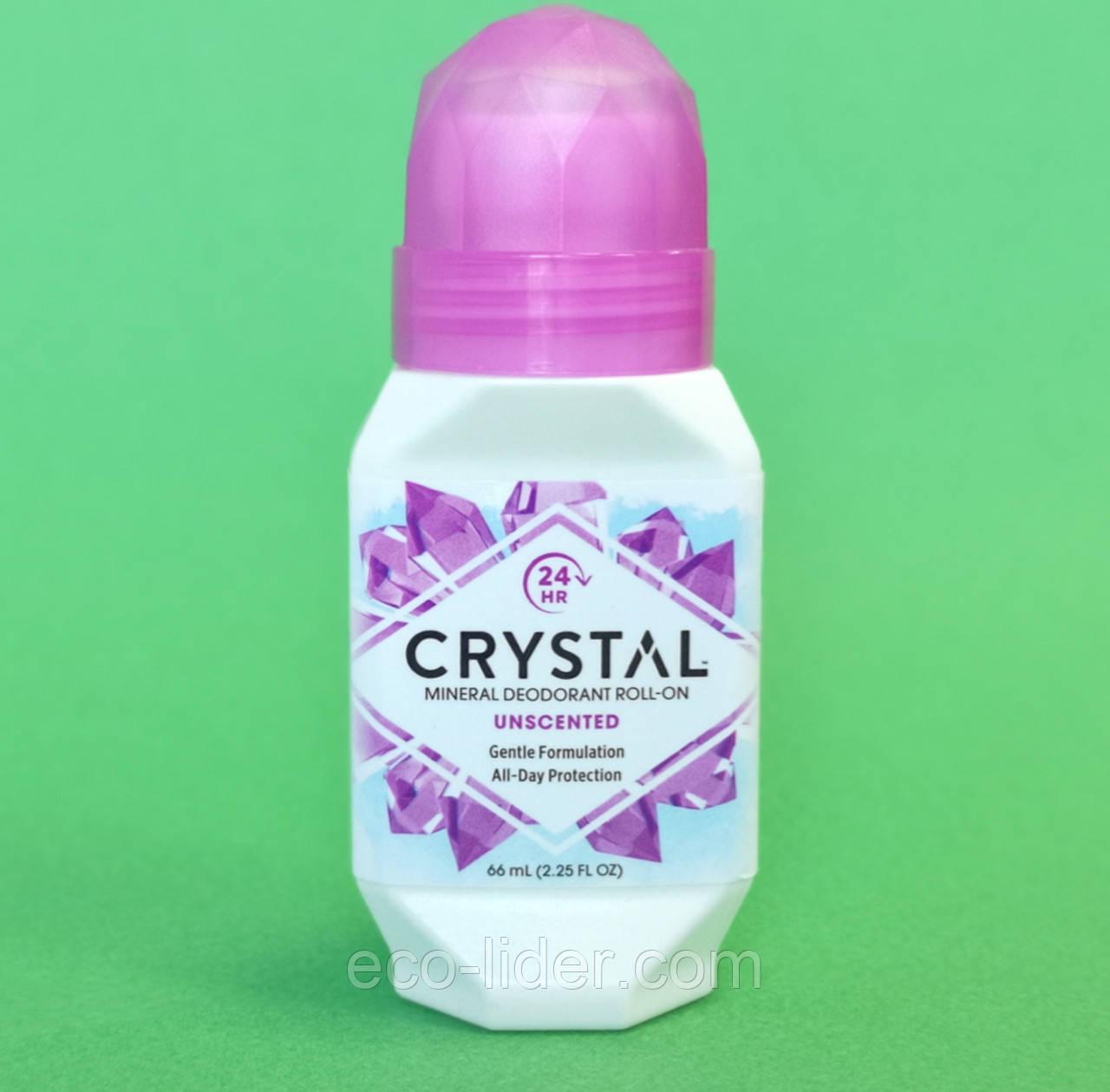 Натуральний роликовий дезодорант Кристал, 66 мл