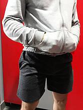 Шорты Gym Bodybuilding (темно-серые в мелкий квадратик)