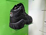 Жіночі зимові черевики Fila MB Mesh Black Leather, фото 3