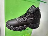 Жіночі зимові черевики Fila MB Mesh Black Leather, фото 4