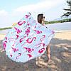 Пляжный коврик Summer Flamingo фламинго опт и розница