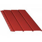 Софит ( Карнизная подшивка ) BRYZA для водосточных систем красный