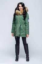 Теплая женская  Куртка парка 46-54р,  доставка по Украине, фото 2