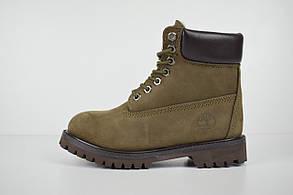 Женские зимние ботинки Timberland Classic Boot, хаки (USA)