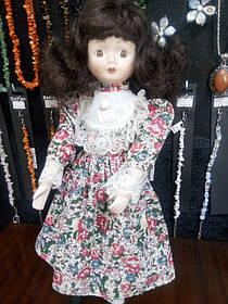 Кукла фарфоровая коллекционная 40см
