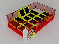 Батутная арена 11.5х6.5х3, фото 1