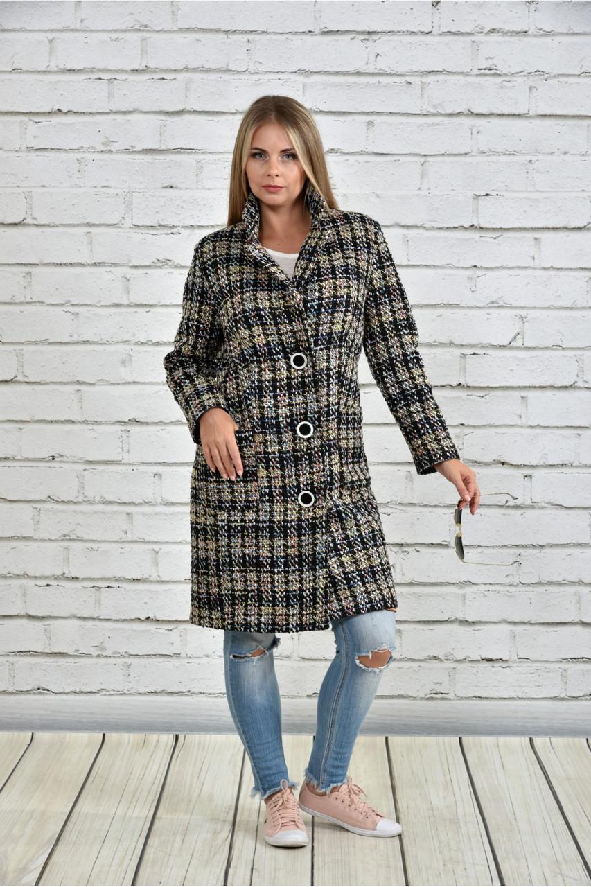 Женское однобортное пальто демисезонное очень большие размеры 42-74