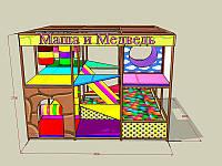 """Детский игровой лабиринт """"Машенька и медведь"""", фото 1"""