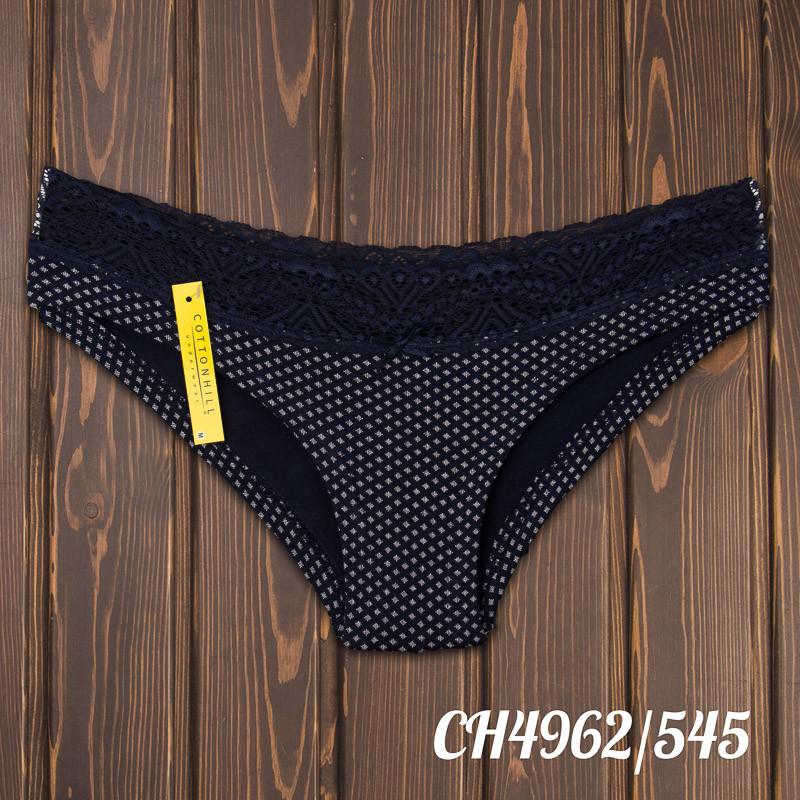 Трусики бикини женские с кружевной резинкой (р-р: M) Cotton Hill Турция CH4962/545