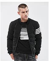 Куртка мужская осень весна  бренд City Channel (Канада) 03006-01 цвет черный