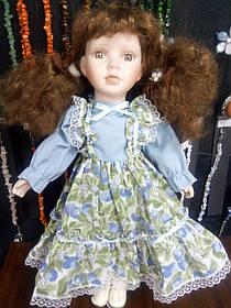 Кукла фарфоровая коллекционная 43см
