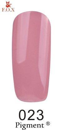 Гель-лак F.O.X. 6 мл Pigment 023 светло фиолетовый, эмаль