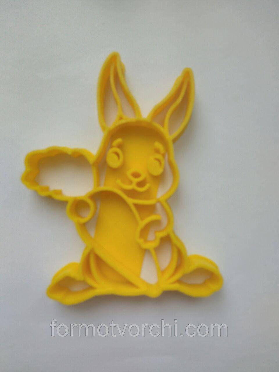 """3D формочки-вырубки для пряников """"Зайчик 12"""""""