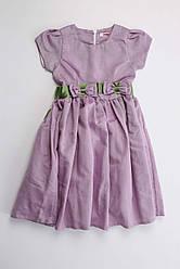 Платье для девочки в складку