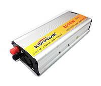 Инвертор Konnwei 2000 W преобразователь с 12 на 220 В, фото 1