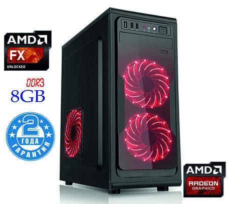 Игровой компьютер NG FX 4300 D4 (FX-4300/DDR3-8Gb/HDD-1Tb/AMD Radeon RX560), фото 2