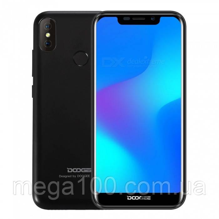Смартфон Doogee X70 черный (экран 5,5 дюймов, памяти 2Gb RAM/16Gb*БАТАРЕЯ 4000 мАч)