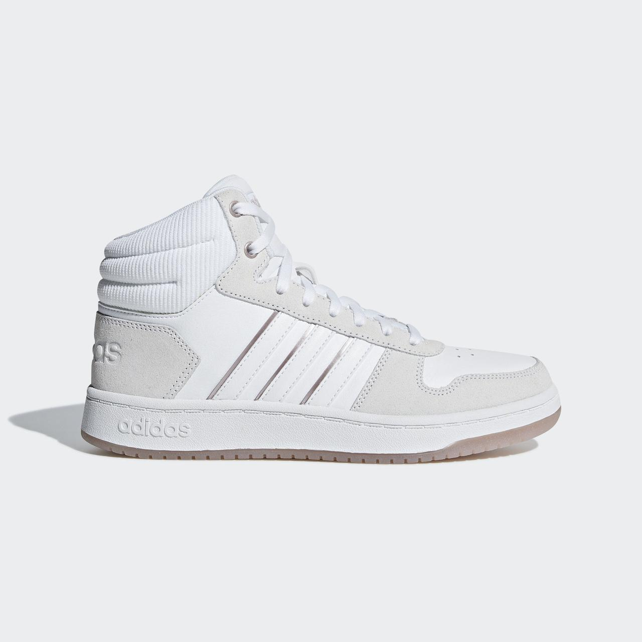Купить Женские кроссовки Adidas Neo Hoops 2.0 Mid (Артикул  B42109 ... 172fe498d4a