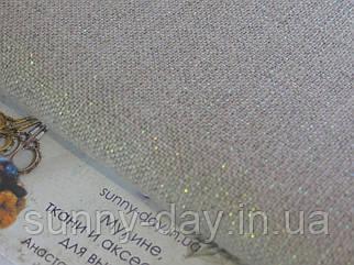 3609/11 Belfast, цвет -  Opalescent Raw/сырого льна с перламутровым люрексом, 32 ct.