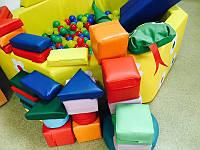 Мягкие модульные конструкторы для детей и модульная продукция
