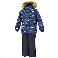 Зимний термо костюм р. 116, 122, 128 для мальчика 6-8 лет рост DANTE 1 ТМ HUPPA 41930130-82686