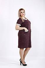 Костюм двойка женский платье+кардиган размеры: 42-74, фото 2