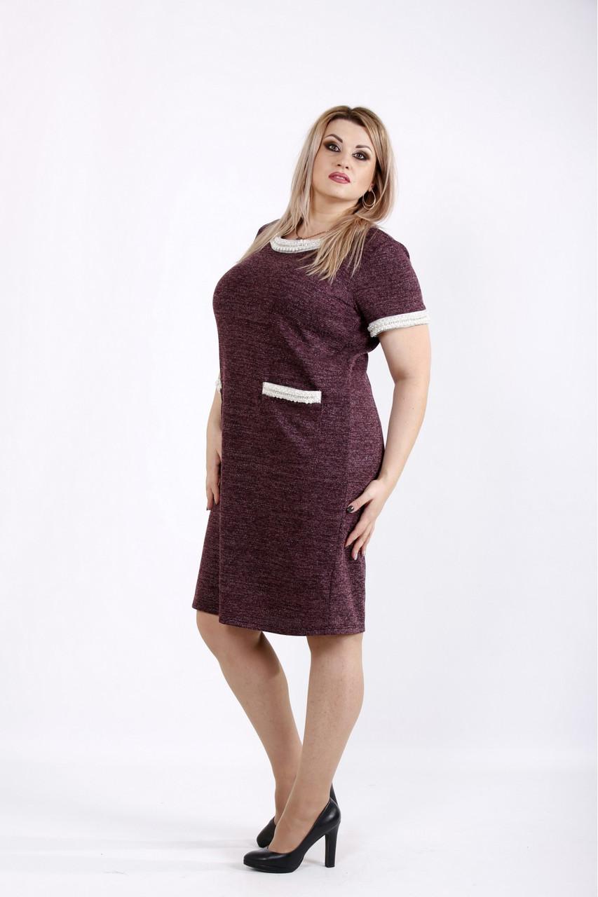 Костюм двойка женский платье+кардиган размеры: 42-74